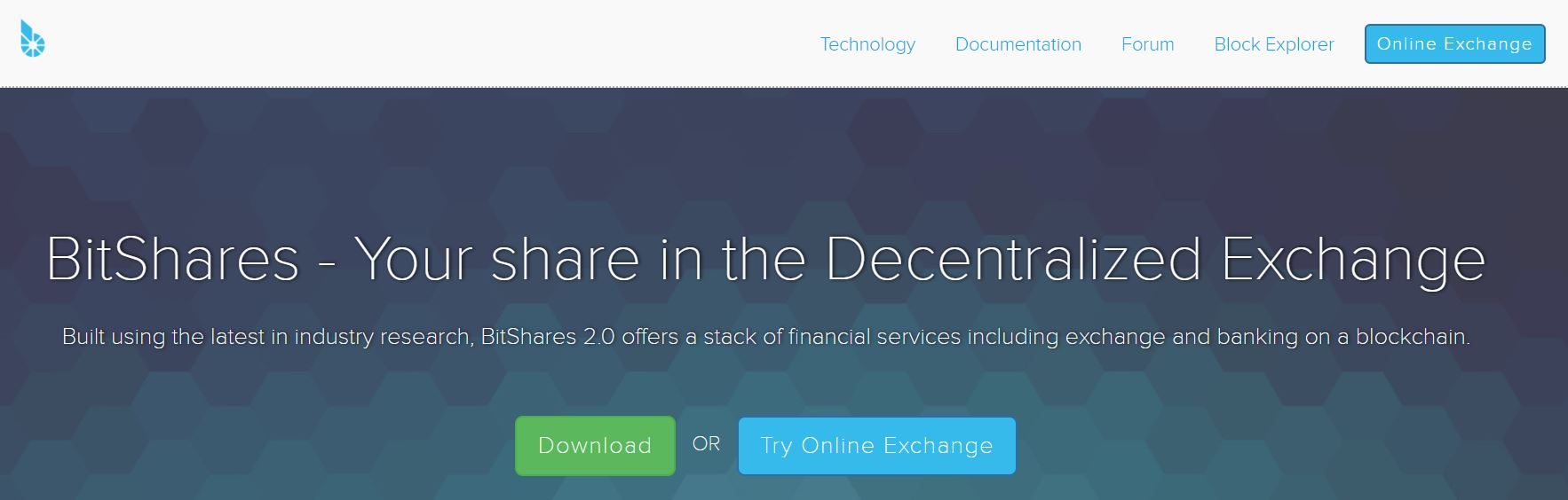 bitshares Online exchange